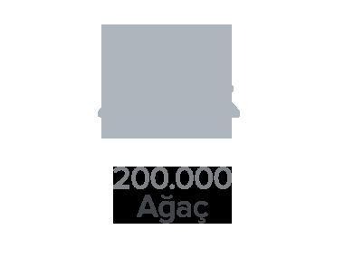 200.000 Ağaç